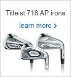 Titleist AP 718 irons